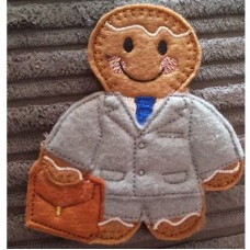 Ginger Businessman