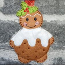 Ginger Christmas Pudding