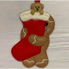 Ginger Christmas Stocking