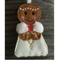 Ginger Communion Girl