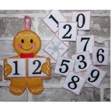 Ginger Countdown Calendar