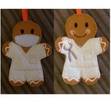 Ginger Dentist and Dental Nurse Set