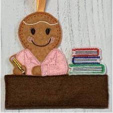 Ginger Desk Teacher Lady