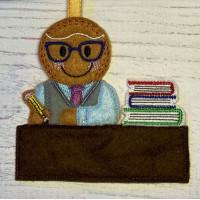 Ginger Desk Teacher Man