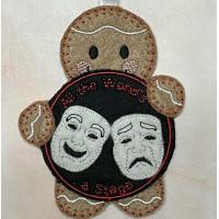 Ginger Drama Masks