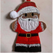 Ginger Dressed Santa
