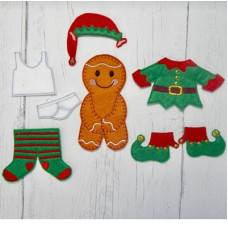 Ginger Elf Washing Line