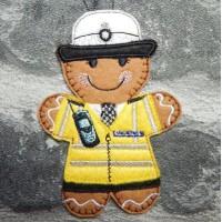 Ginger Female Traffic Officer