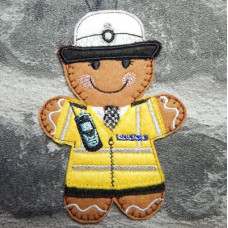 Ginger Female Traffic Officer