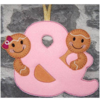 Ginger Girl & Boy Hanger