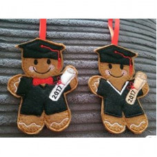 Ginger Graduation Boy and Girl