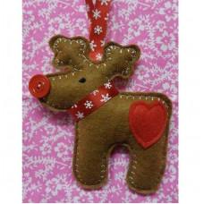Ginger Heart Reindeer