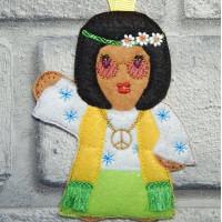 Ginger Hippy Girl