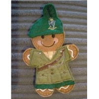Ginger Irish Soldier