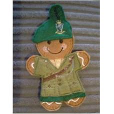 Ginger Irish Soldier