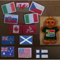 Ginger Jumper National Flags