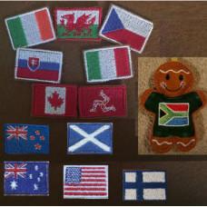 Ginger Jumper National Flags
