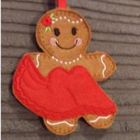 Ginger Lady Ballroom Dancer