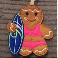 Ginger Lady Surfer