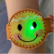Ginger Light Up Wrist Strap