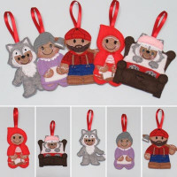 Ginger Little Red Riding Hood - Individual Designs