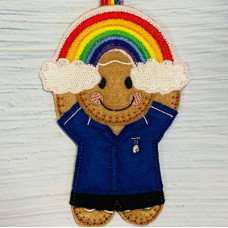 Ginger Male Nurse Rainbow