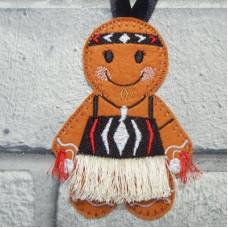 Ginger Maori Girl
