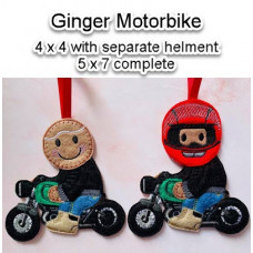 Ginger Motorbike
