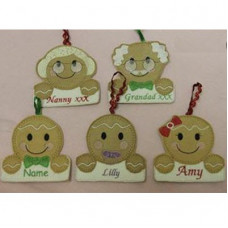 Ginger Name Tags