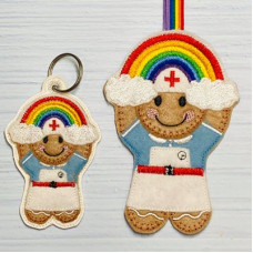 Ginger Nurse Rainbow