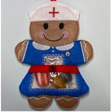 Ginger Nurse Treat Bag