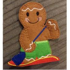 Ginger Paddle Boarder