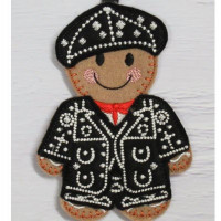 Ginger Pearly King