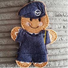 Ginger RAF Cadet