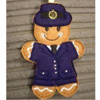 Ginger RAF Girl in Suit 2