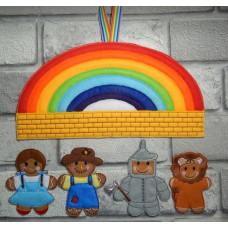 Ginger Rainbow Friends
