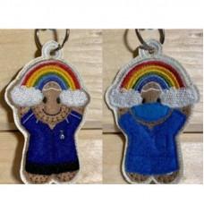 Ginger Rainbow Nurse Key Tabs