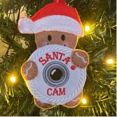 Ginger Santa Cam