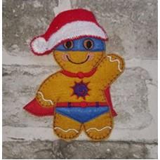 Ginger Santa Hat
