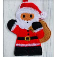 Ginger Santa with Sack