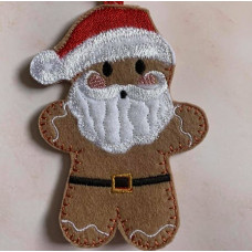Ginger Santa