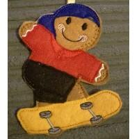 Ginger Skateboarder