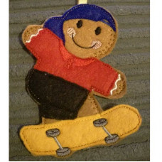 Ginger Skateboarder