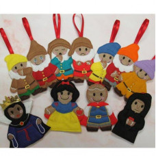 Ginger Snow White and the 7 Dwarfs - Complete Set