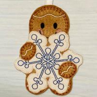 Ginger Snowflake