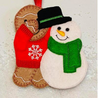 Ginger Snowman Builder