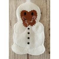 Ginger Snowman Costume