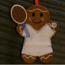 Ginger Tennis Player