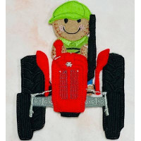 Ginger Tractor Driver