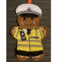 Ginger Traffic Police